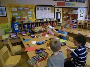 1große Klassenräume